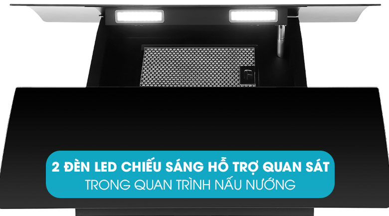 Đèn LED chiếu sáng - Máy hút mùi Pramie DE19-900