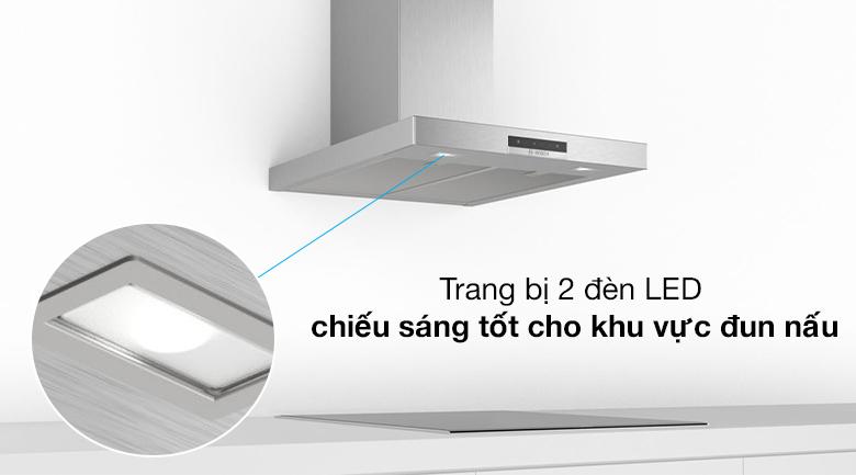 Đèn LED - Máy hút mùi áp tường Bosch DWB66DM50B