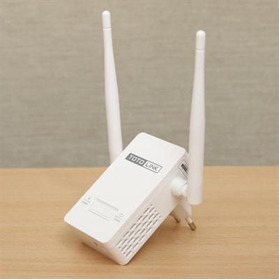 Repeater (bộ mở rộng sóng) Wifi 300Mbps Totolink EX201 Trắng