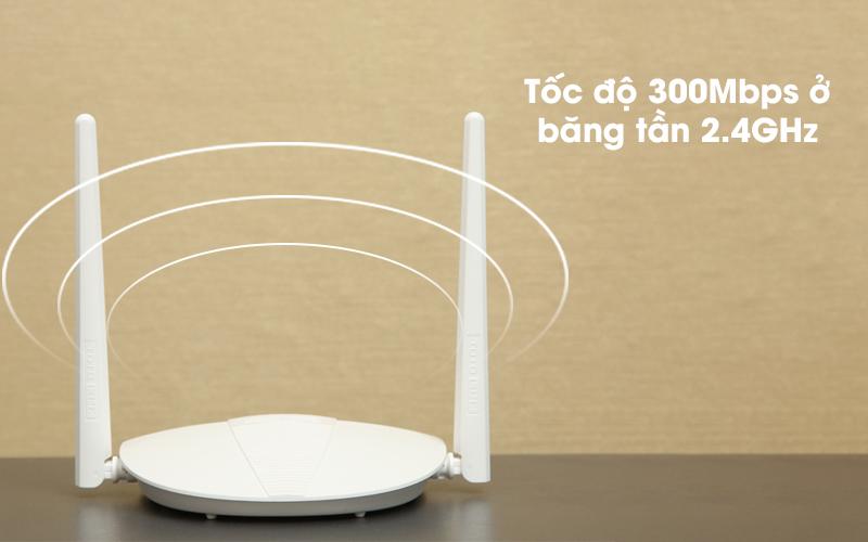 Bộ phát sóng Wifi Router Chuẩn N Totolink N210RE V1 trắng có tốc độ cao