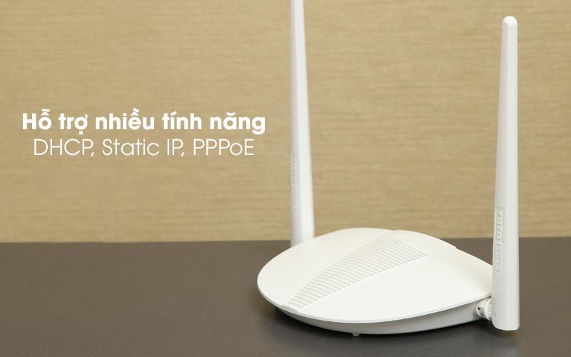 Bộ phát sóng Wifi Router Chuẩn N Totolink N210RE V1 trắng hỗ trợ nhiều tính năng