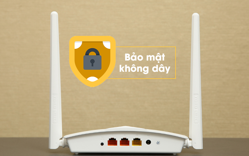 Bộ phát sóng Wifi Router Chuẩn N Totolink N210RE V1 trắng bảo mật tốt