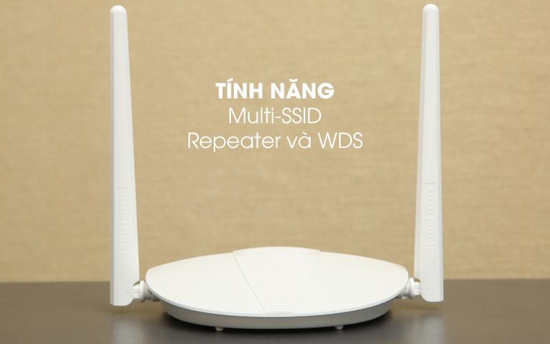 Bộ phát sóng Wifi Router Chuẩn N Totolink N210RE V1 trắng có tính năng Multi SSID