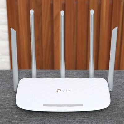 Router Wifi Chuẩn AC1350 Băng Tầng Kép TP-Link Archer C60 Trắng
