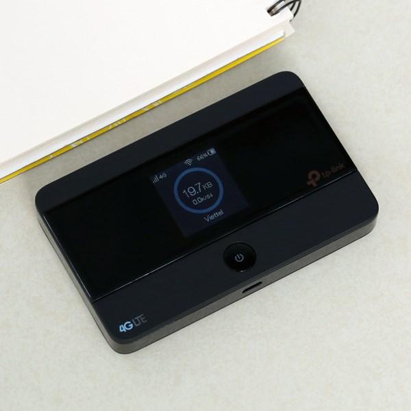 Bộ Phát Wifi Di Động 4G LTE TP-Link M7350 Đen
