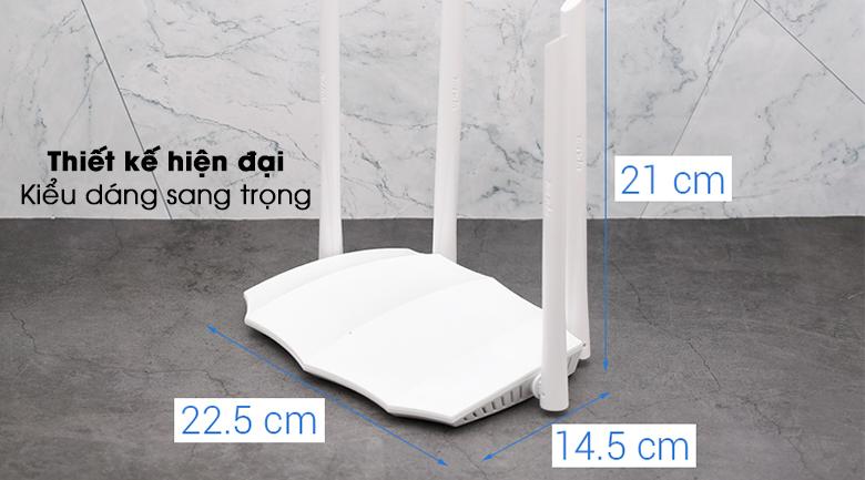 Router Wifi Chuẩn AC1200 Tenda AC5 V3 4 kiểu dáng tương lai