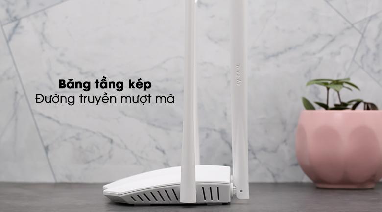 Router Wifi Chuẩn AC1200 Tenda AC5 V3 4 tốc độ mạnh mẽ