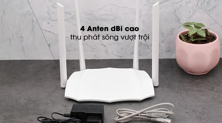 Router Wifi Chuẩn AC1200 Tenda AC5 V3 4 anten hiện đại