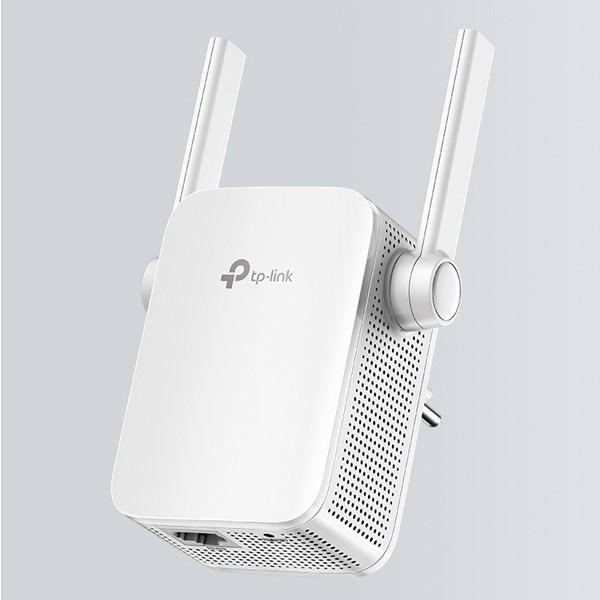 Repeater (bộ mở rộng sóng) Wifi AC750 TP-Link RE205 Trắng
