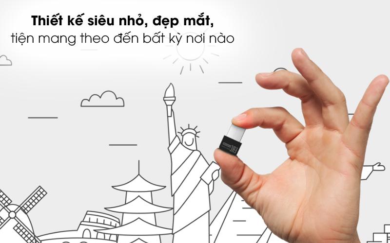 USB Wifi 150 Mbps Totolink N160USM Đen - Cầm gọn chỉ với 2 ngón tay, kích cỡ cực kỳ nhỏ nhắn