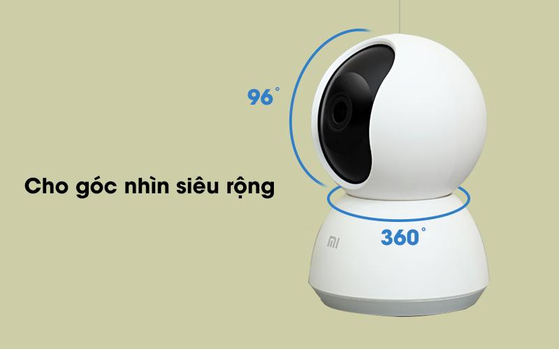 Camera IP Mi Home 360 Độ 1080P Xiaomi QDJ4041GL trắng có góc nhìn rộng