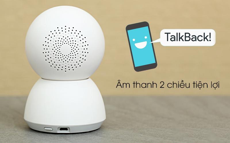 Camera IP Mi Home 360 Độ 1080P Xiaomi QDJ4041GL trắng cho âm thanh 2 chiều tiện ích