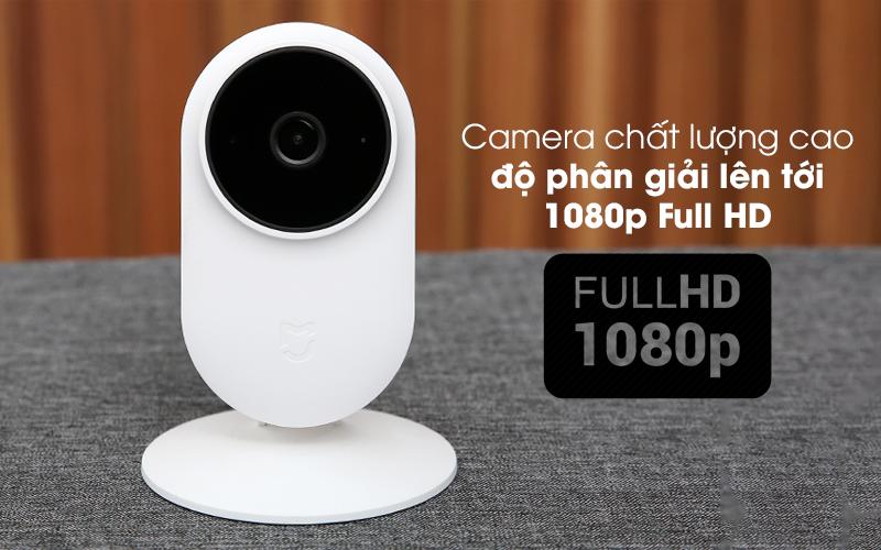 Cho độ phân giải cao - Camera IP 1080P Xiaomi Mi Home Basic ZRM4037US Trắng
