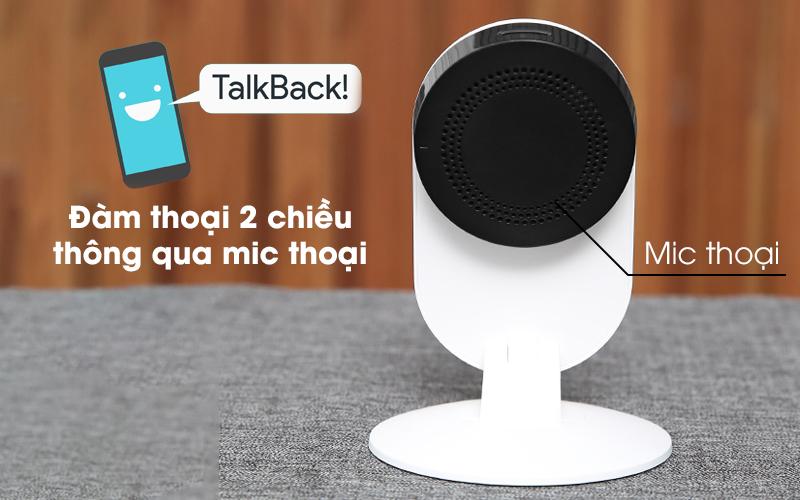 Có thể đàm thoại 2 chiều - Camera IP 1080P Xiaomi Mi Home Basic ZRM4037US Trắng