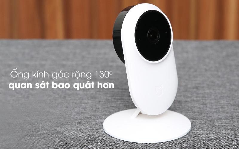 Quan sát góc nhìn rộng hơn - Camera IP 1080P Xiaomi Mi Home Basic ZRM4037US Trắng