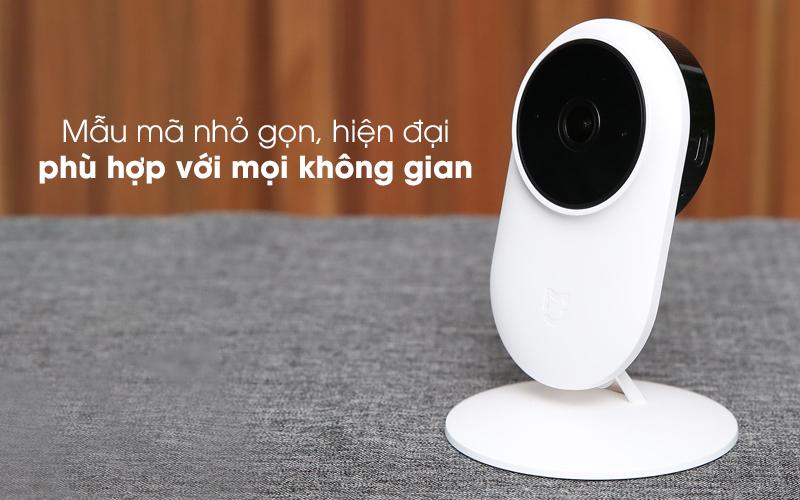 Có thiết kế đơn giản - Camera IP 1080P Xiaomi Mi Home Basic ZRM4037US Trắng