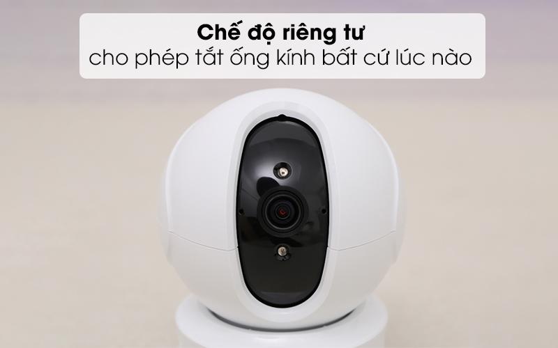 Chế độ riêng tư cho phép tắt ống kính bất cứ lúc nào - Camera IP 1080P EZVIZ CS-CV246 Trắng