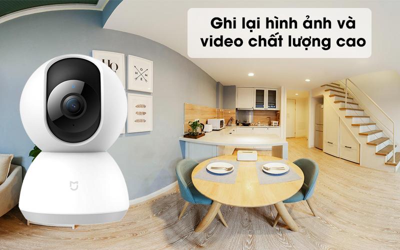 Cho hình ảnh chất lượng cao - Camera IP Mi Home 360 Độ 1080P Xiaomi QDJ4058GL