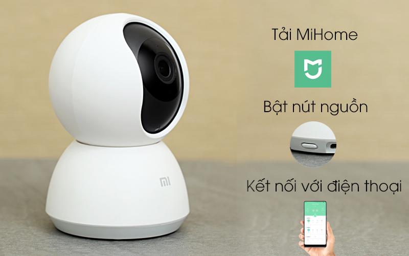 Dễ dàng thiết lập - Camera IP Mi Home 360 Độ 1080P Xiaomi QDJ4058GL