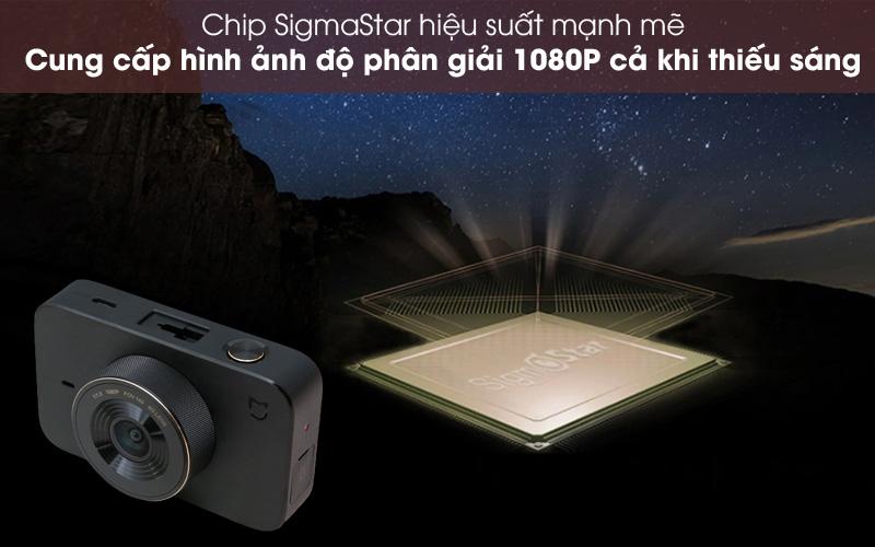 Chất lượng hình ảnh sắc nét - Camera Hành Trình 1080P Xiaomi Mi Dash Cam 1S Đen