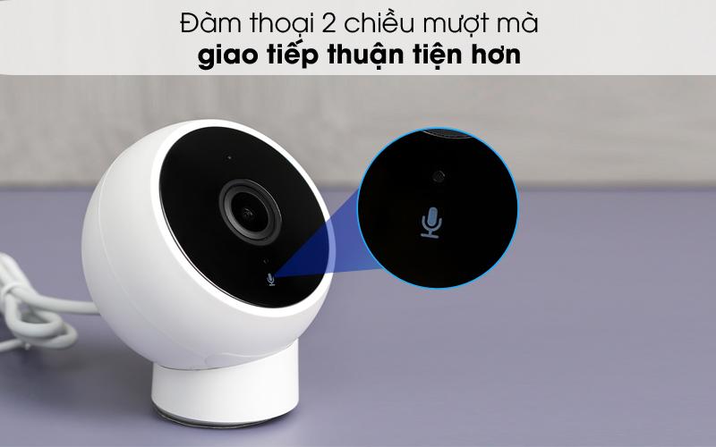 Hỗ trợ đàm thoại 2 chiều - Camera IP 1080P Xiaomi Mi Home Magnetic Mount QDJ4065GL Trắng