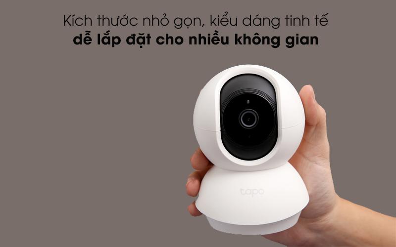 Nhỏ gọn, đẹp mắt - Camera IP 360 độ 1080P TP-Link Tapo C200 Trắng