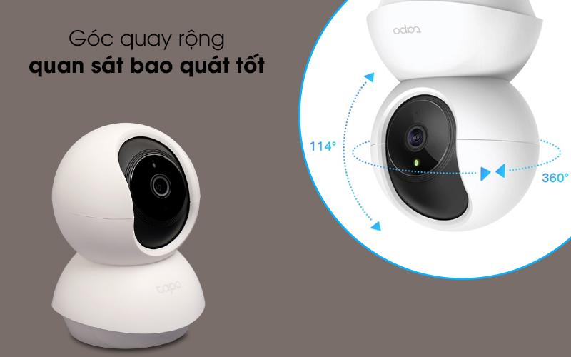 Tầm nhìn bao quát - Camera IP 360 độ 1080P TP-Link Tapo C200 Trắng
