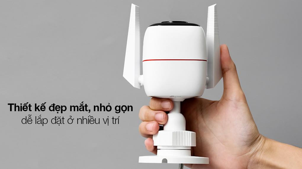 Camera Giám Sát Ngoài Trời 3MP TP-link Tapo C310 - Thiết kế ngộ nghĩnh, hiện đại, phù hợp bố trí ở ngoài trời