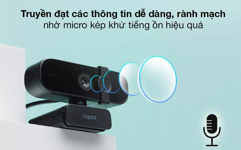 Micro kép - Webcam 1440p Rapoo C280
