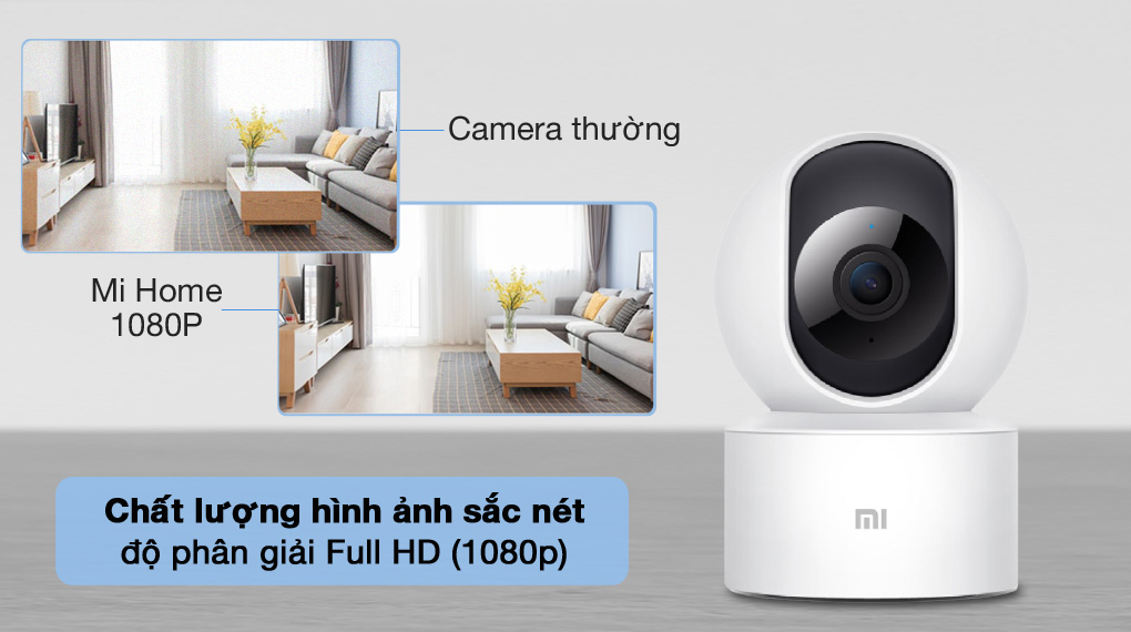 Dữ liệu phân giải cao - Camera IP Mi Home 360 Độ 1080P Xiaomi BHR4885GL
