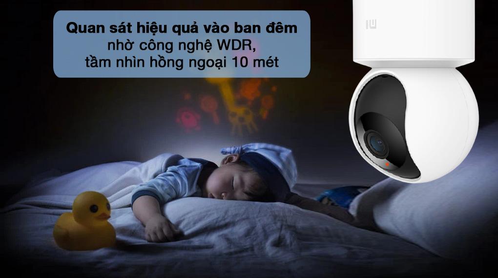 Giám sát hồng ngoại - Camera IP Mi Home 360 Độ 1080P Xiaomi BHR4885GL
