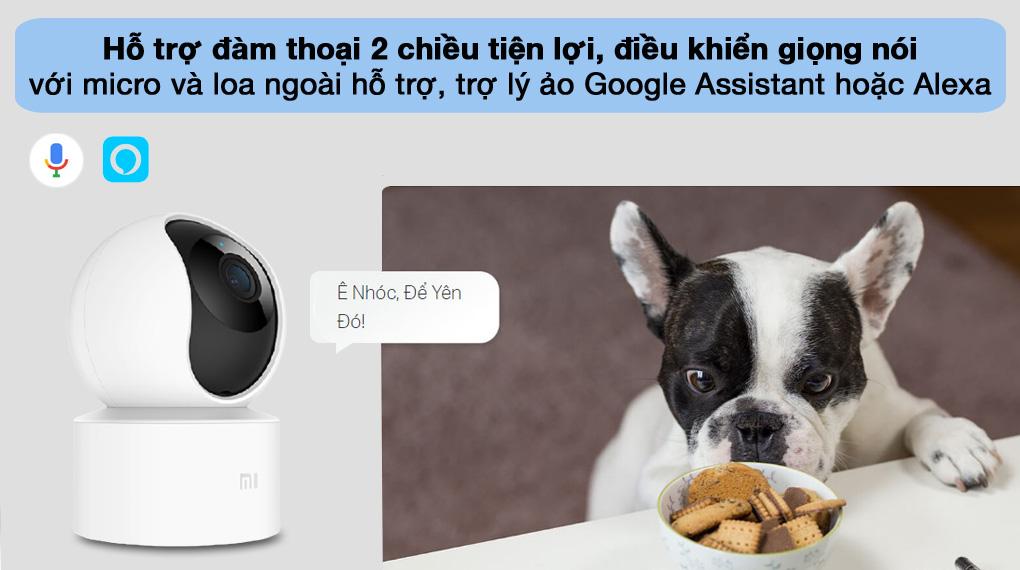 Đàm thoại - Camera IP Mi Home 360 Độ 1080P Xiaomi BHR4885GL