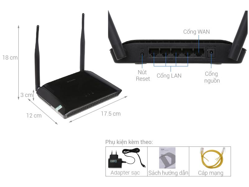 Bộ phát wifi D-link DIR-612