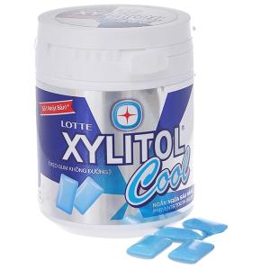 Singum không đường Lotte Xylitol Cool Vị Bạc hà 145g