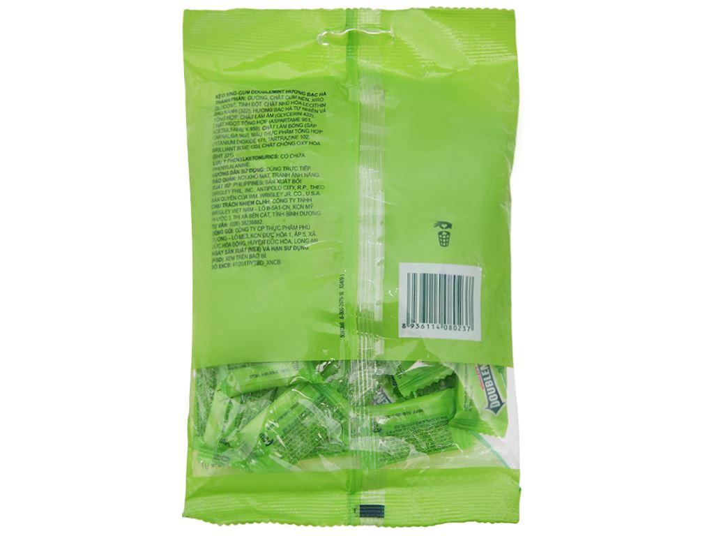 Kẹo sing-gum DoubleMint hương bạc hà gói 116g 2