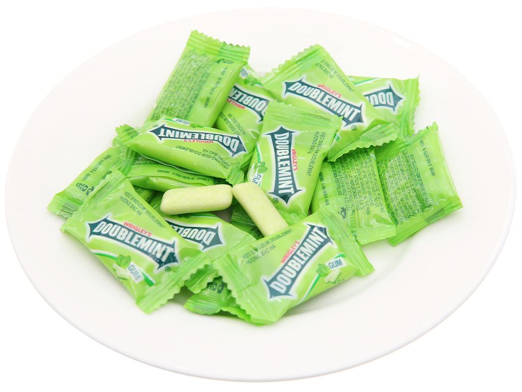 Kẹo sing-gum DoubleMint hương bạc hà gói 116g 4