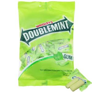 Kẹo sing-gum DoubleMint hương bạc hà gói 116g