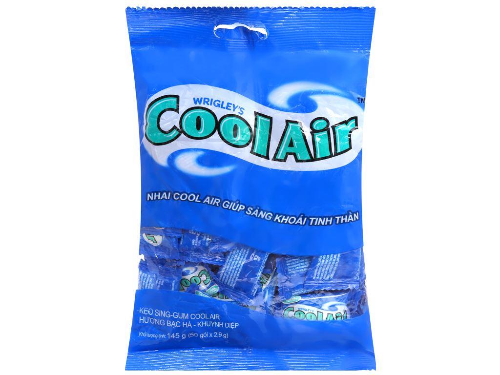 Kẹo sing-gum Cool Air hương bạc hà khuynh diệp gói 145g 1