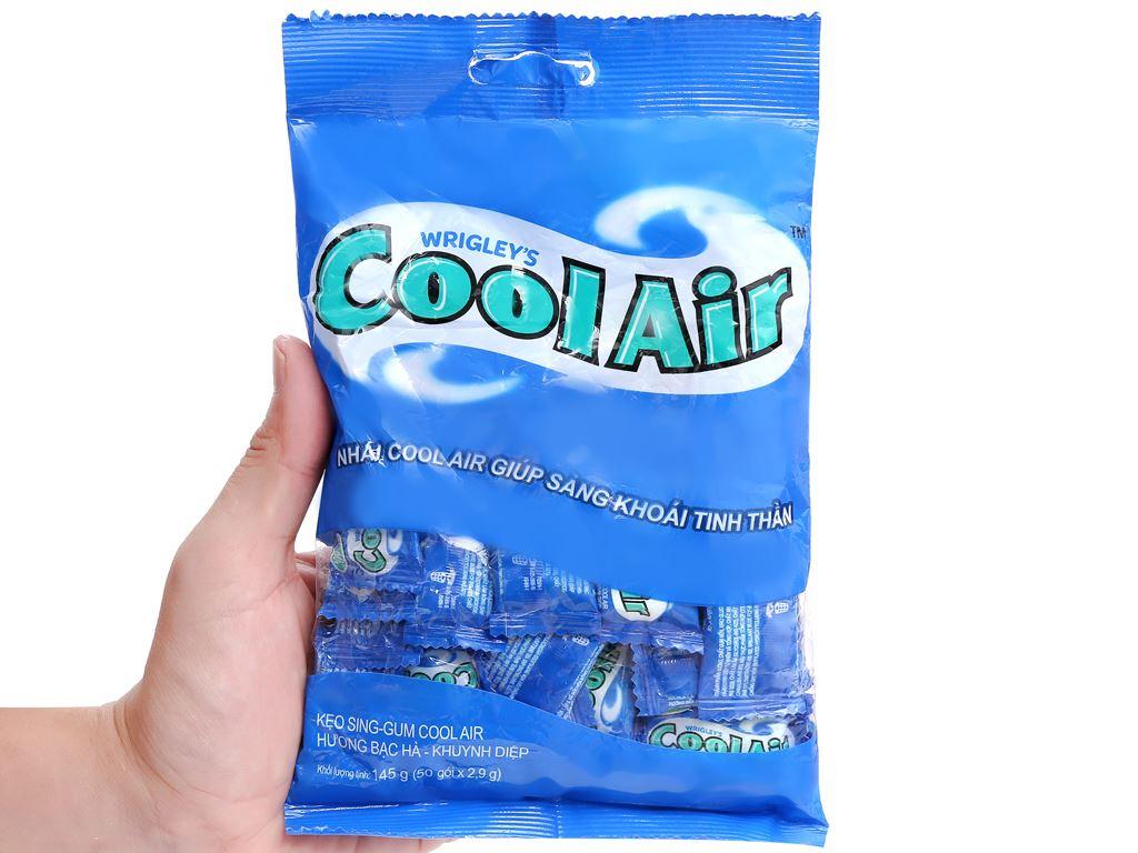 Kẹo sing-gum Cool Air hương bạc hà khuynh diệp gói 145g 4