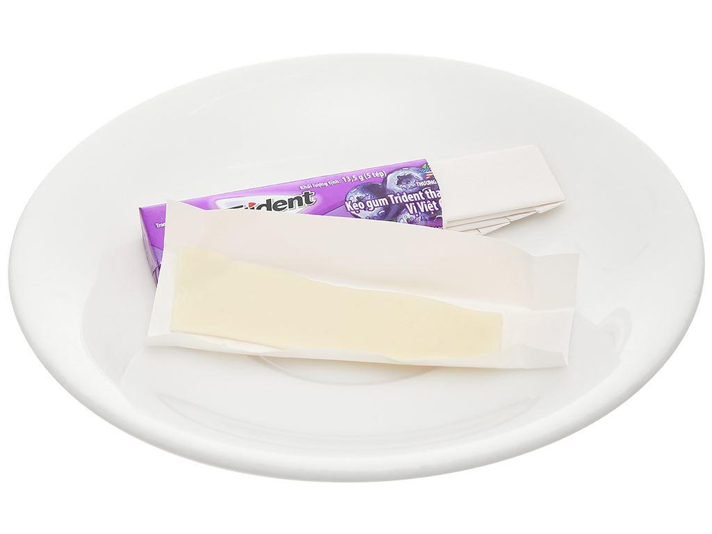 Kẹo gum Trident Ice vị việt quất thanh 13.5g 5