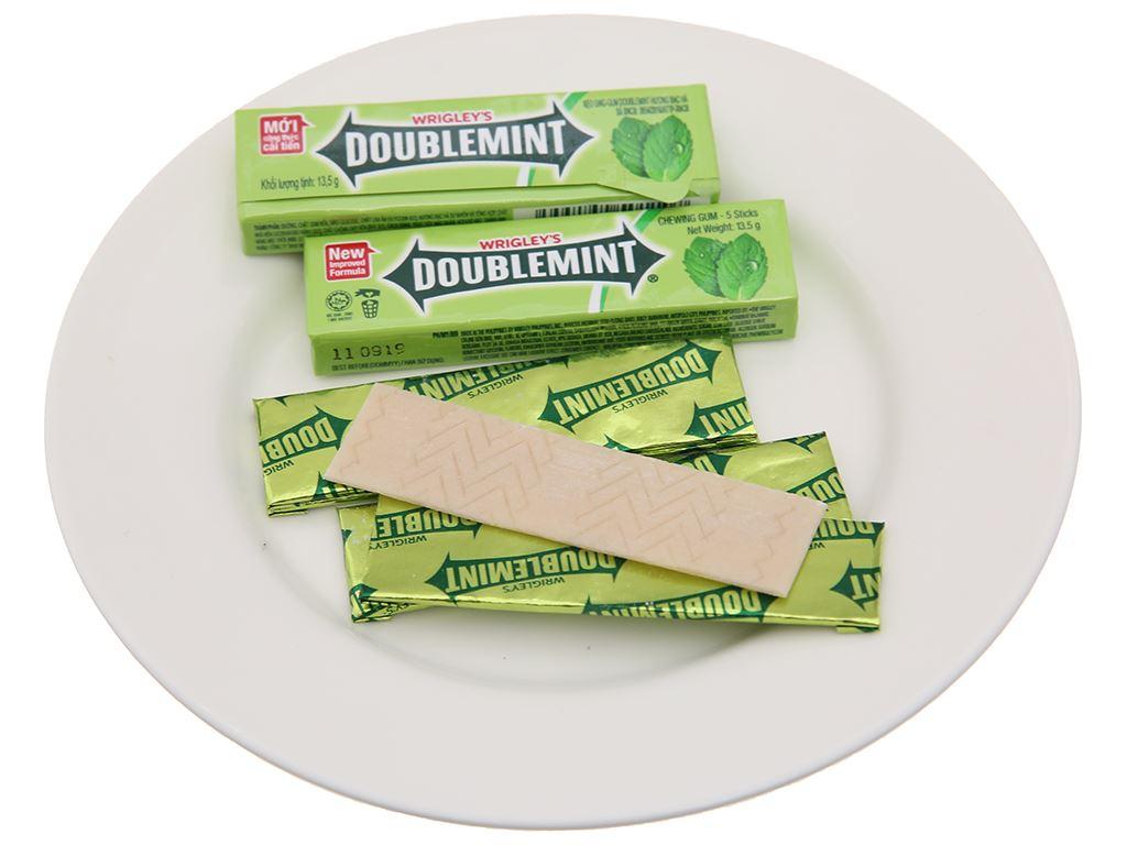 Kẹo sing-gum DoubleMint hương bạc hà gói 40.5g 4