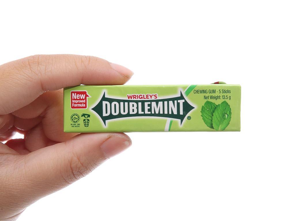 Kẹo sing-gum DoubleMint hương bạc hà gói 40.5g 3