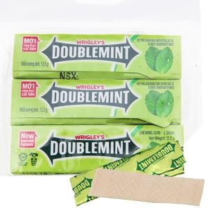 Kẹo sing-gum DoubleMint hương bạc hà gói 40.5g