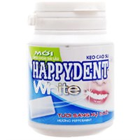 Singum Happydent White hương Peppermint hũ 56g