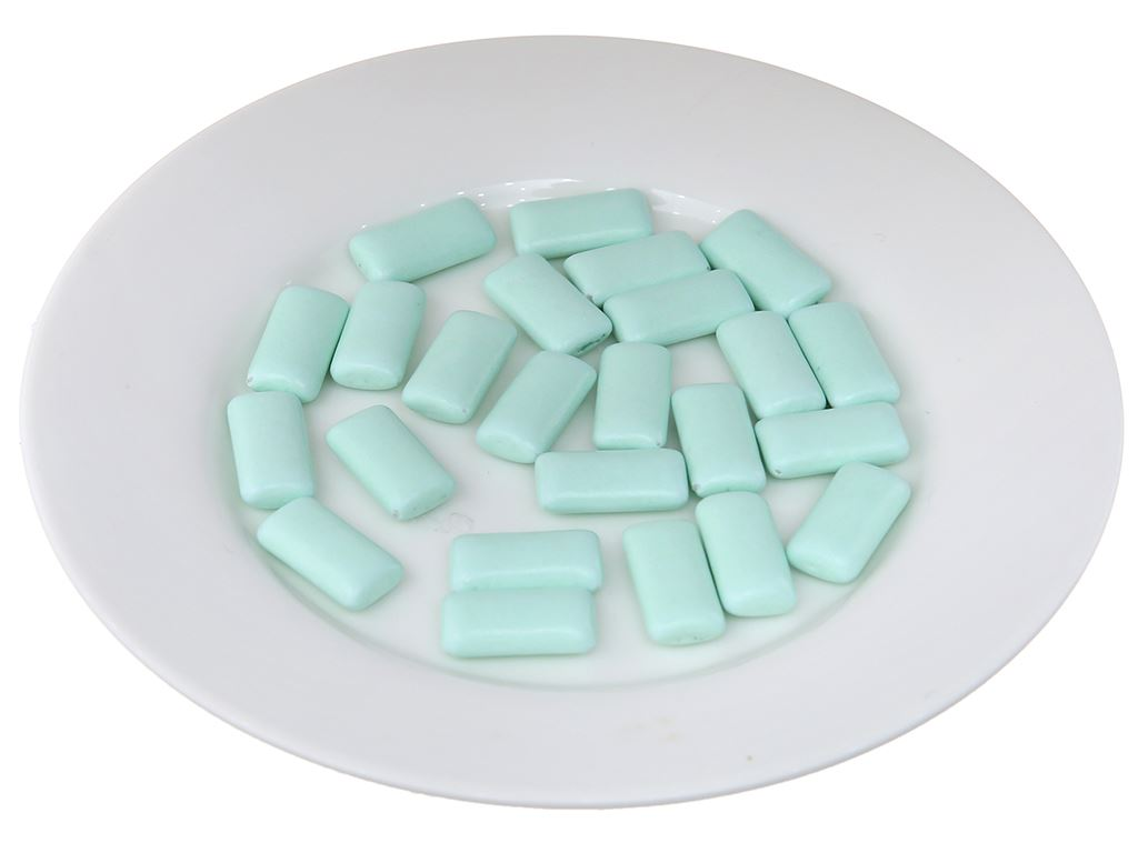 Kẹo cao su Mentos Fresh Action hương bạc hà hũ 56g 4
