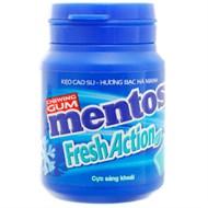 Kẹo cao su Mentos Fresh Action vị bạc hà 56g