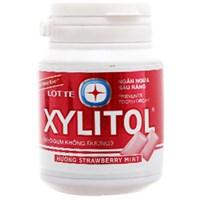 Kẹo cao su không đường Lotte Xylitol vị dâu 58g