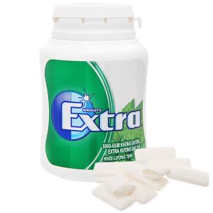 Sing-gum không đường Extra hương bạc hà hũ 56g