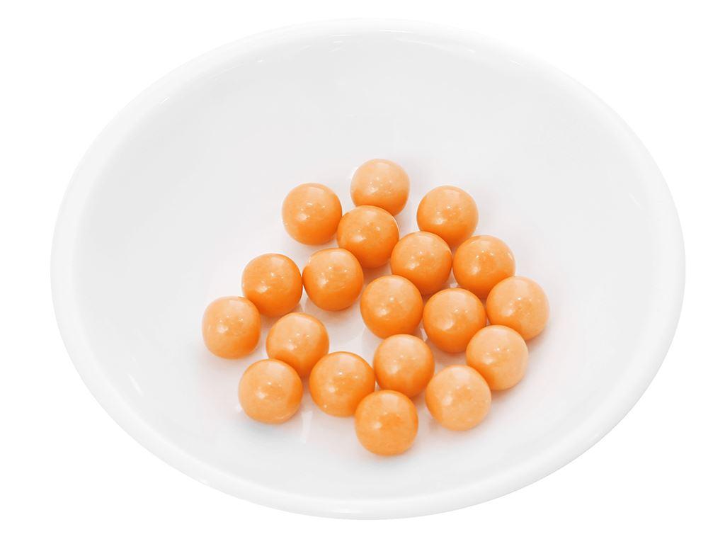 Kẹo gum bong bóng Lotte Fusen Nomi hương cam hũ 15g 7