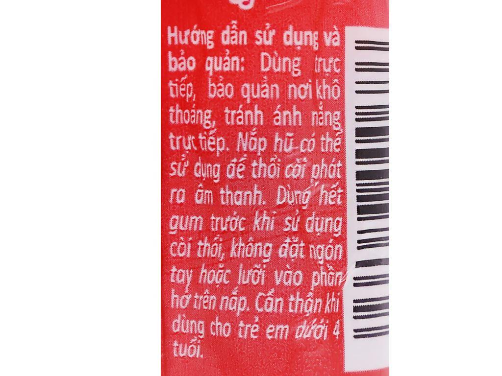Kẹo gum bong bóng Lotte Fusen Nomi hương cola chanh hũ 15g 4